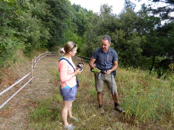 Evarist Natural Walks montseny Ratafia Freibeuter reisen elena
