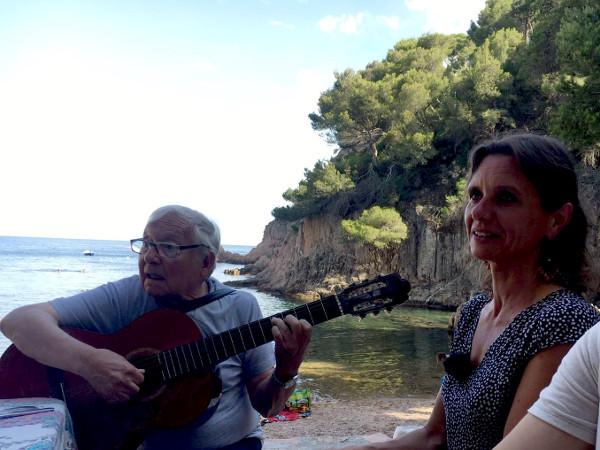 Josep Bastons Havaneres Strand palafrugell
