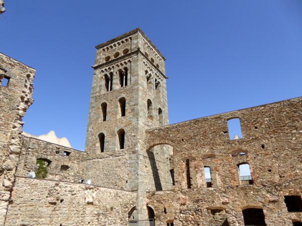 Kloster Sant Pere de Rodes Freibeuter Reisen.