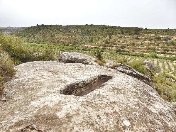 Nekropole visigodos el cogul gräber Freibeuter Reisen Lleida