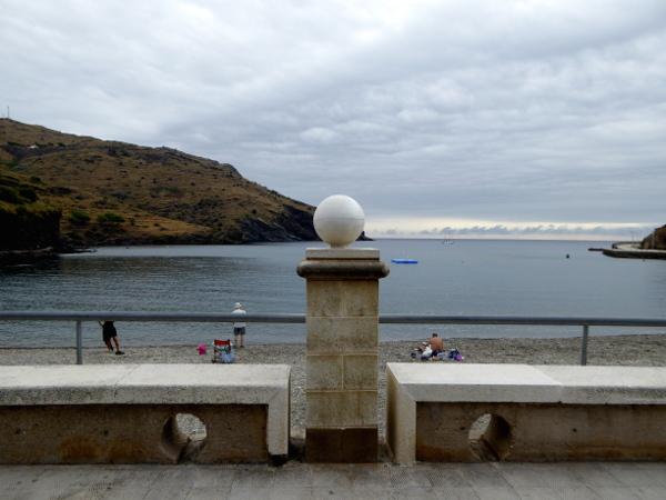 Portbou auf dem Weg nach Perpignan Freibeuter Reisen