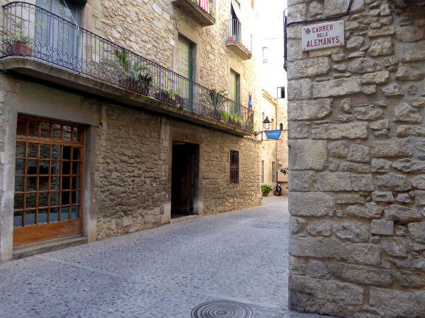 carrer dels alemanys Girona freibeuter reisen