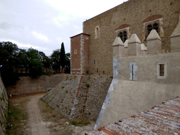 perpignan Festung Palais des rois de majorque freibeuter reisen