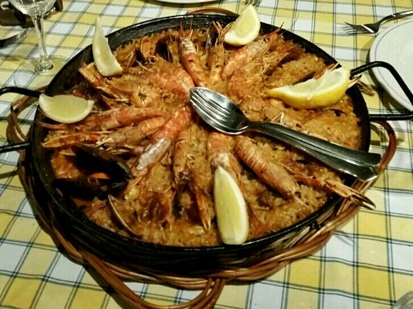 Barcelona Tipps Paella