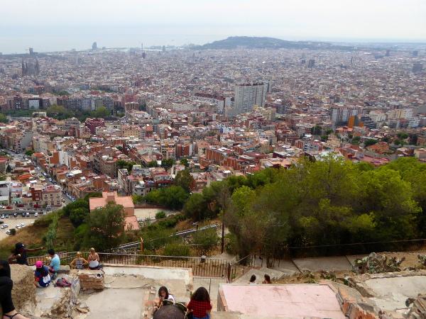 bunkers del carmel-barcelona-turo-de-la-rovira-freibeuter-reisen