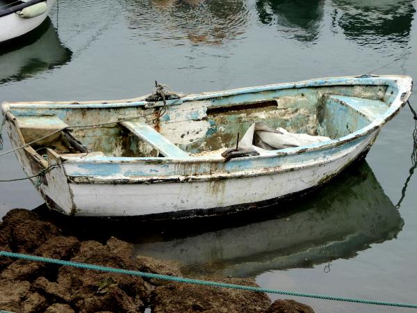 altes-fischerboot-peniche-atadeiras-hafen-freibeuter-reisen