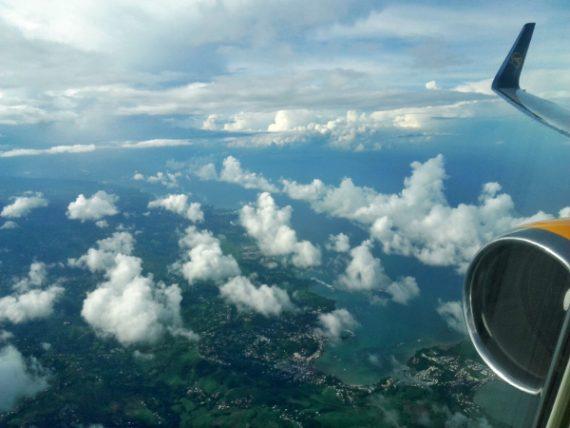 Über den Wolken - mit Condor nach Martinique 3