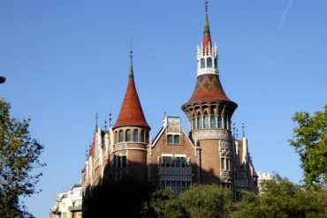 Sant Jordi in der Casa de les Punxes 15