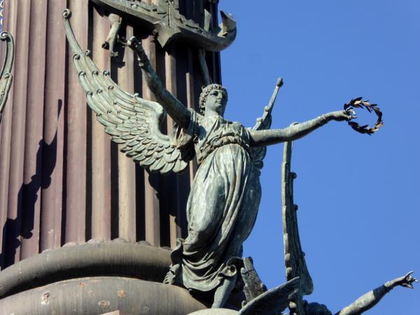 engel-kolumbussaeule-barcelona-freibeuter-reisen