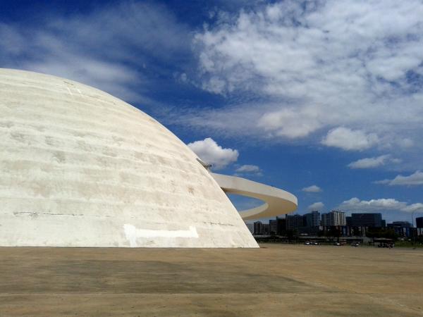 Brasilia Museo Nacional Honestino Guimarães freibeuter reisen Brasilien