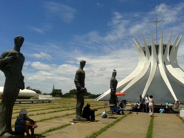 Catedral Metropolitana Brasilia Kathedrale freibeuter reisen Brasilien