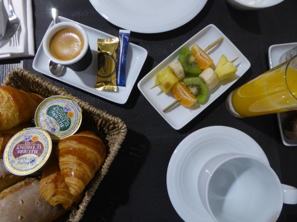 Frühstück Hotel Tourny