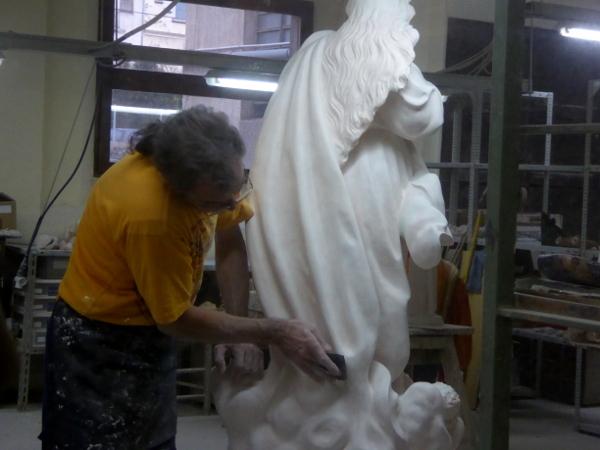 Handwerk religioese kunst olot museu sants freibeuter reisen
