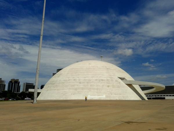 Museo Nacional Brasilia Freibeuter reisen Brasilien Architektur