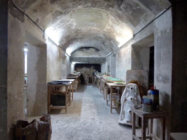 Museu Sants Olot Werkstatt religoese Kunst freibeuter reisen