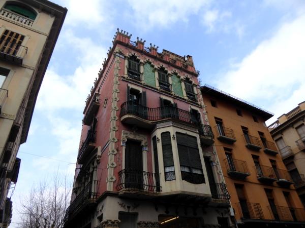 Olot Casa Gaiteà Vila Modernisme Freibeuter reisen