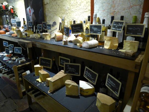 cave fromage Baud et millet bordeaux freibeuter reisen