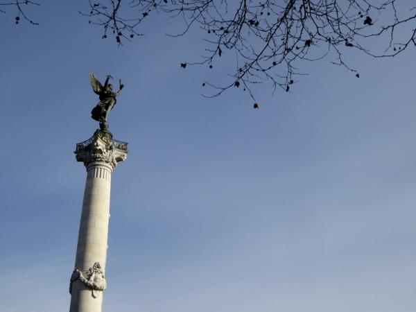 denkmal Monument girondins bordeaux freibeuter reisen