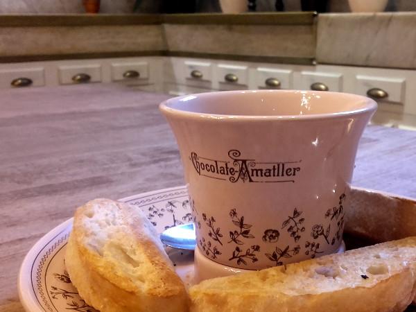 nette cafes in barcelona freibeuter resien amatller schokolade