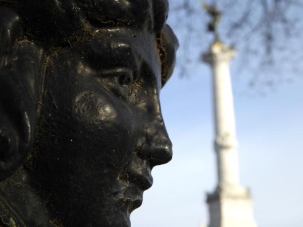 place quinconces Monument girondins bordeaux freibeuter reisen