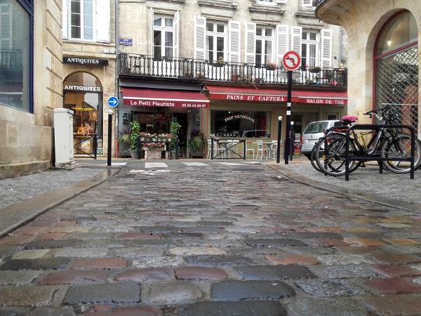 Bordeaux Chartrons Strasse Freibeuter reisen