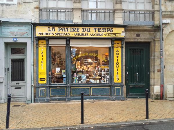 Bordeaux Laden Chartrons Freibeuter reisen