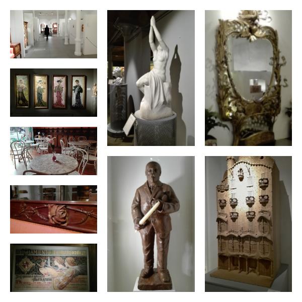 Museu del Modernisme collage Barcelona freibeuter reisen