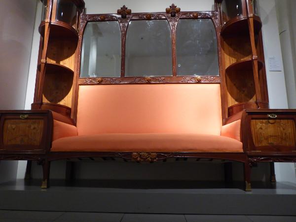 Sofa Museu del Modernisme Barcelona Freibeuter reisen