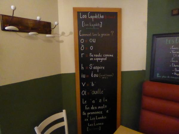 gaskognisch lernen sprache Le cadet Bordeaux Freibeuter reisen