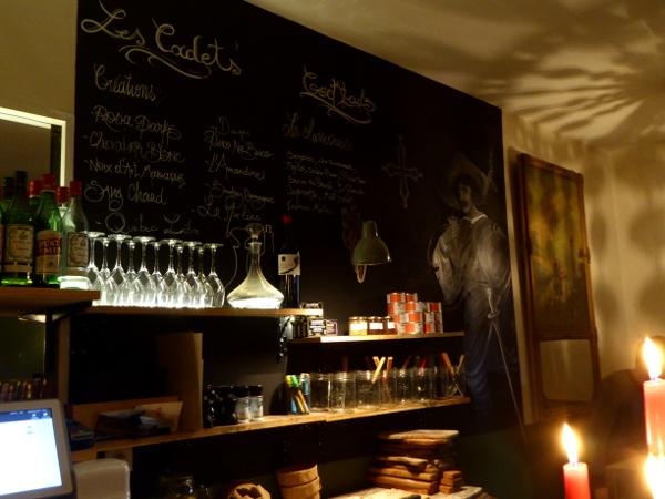 gaskognische Bar Le cadet Bordeaux Freibeuter reisen