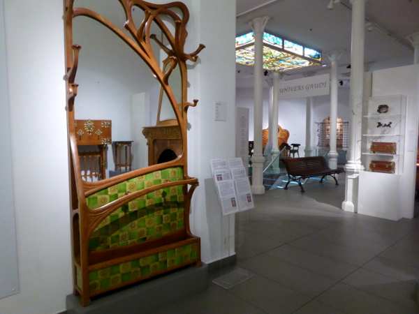 im Museu del Modernisme Barcelona Freibeuter reisen