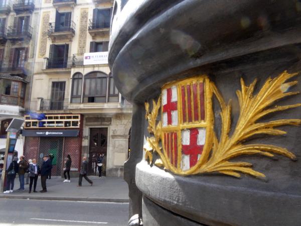 Font Canaletes Barcelona Las Ramblas Freibeuter reisen