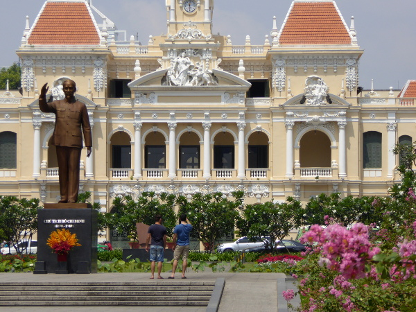 Ho Chi Minh city ho chi minh statue