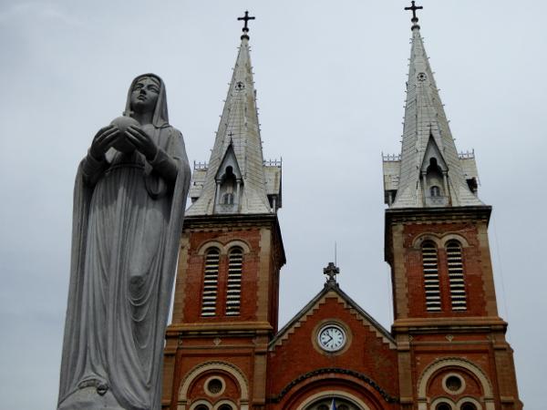 kathedrale Ho Chi Minh city