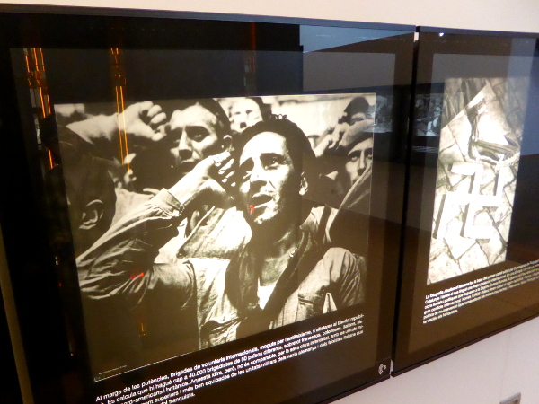 La Jonquera Museu de l exili Spanischer Buergerkrieg Freibeuter reisen