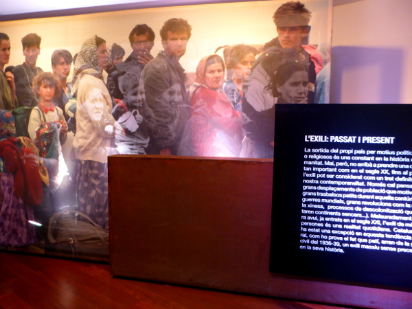 museu de l'exili la jonquera