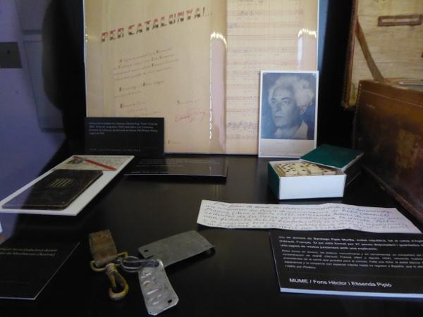 Museu de l exili La jonquera objekte freibeuter reisen