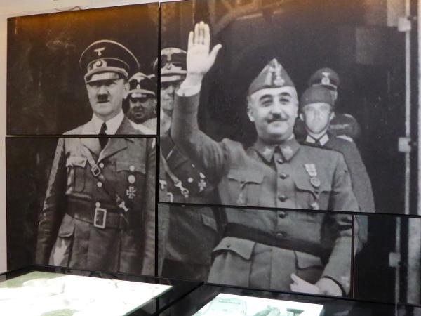Museu de l exili la jonquera Franco Faschismus freibeuter reisen
