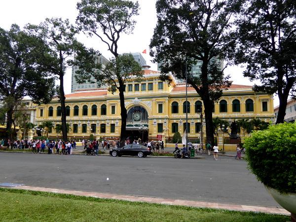 post office Ho Chi Minh city