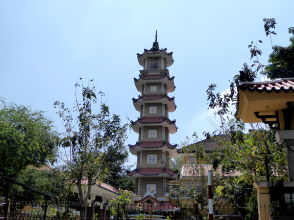 pagode buddistisch Ho Chi Minh city