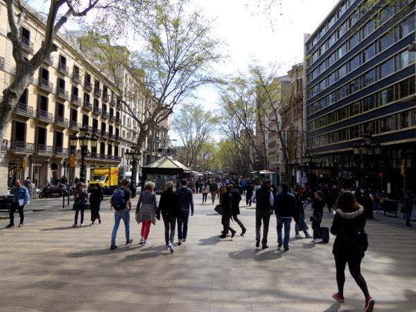la rambla Barcelona freibeuter reisen