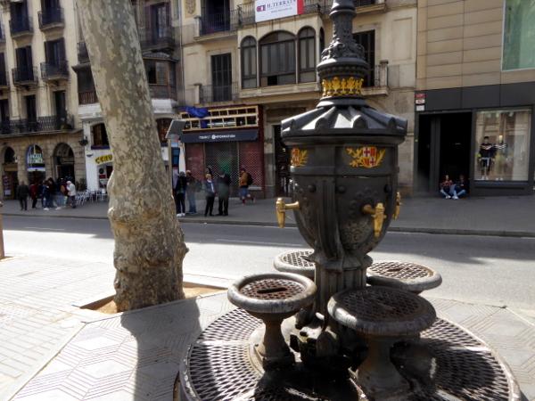 la rambla barcelona canaletes freibeuter reisen