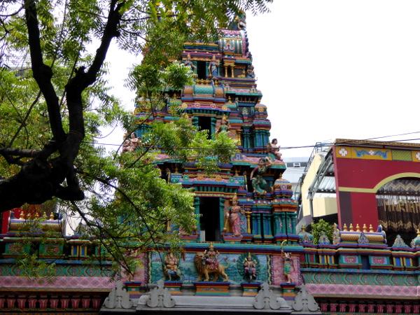 hindu tempel Ho Chi Minh city