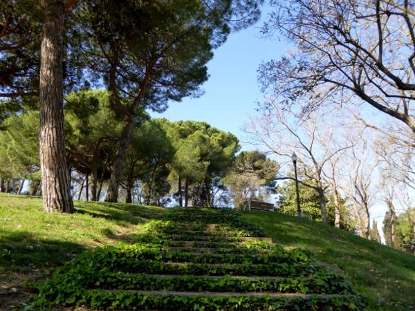 park im montjuic picknick in barcelona freibeuter reisen