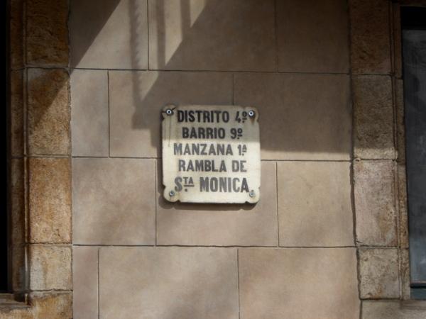 Rambla santa monica barcelona freibeuter reisen