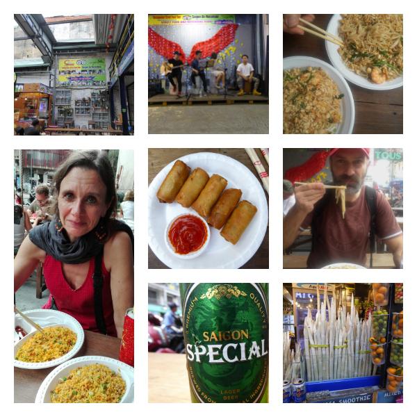 street food market ho chi minh city