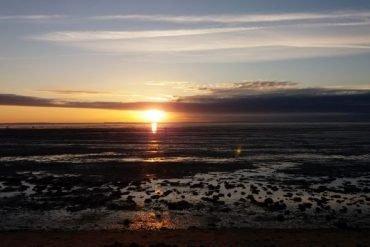 Nordsee sonnenuntergang