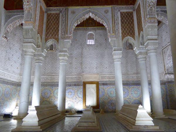 Marrakesch Grabmal Saadier Al Mansur Freibeuter reisen