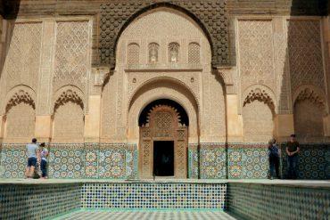 Marrakesch Koranschule Medersa Ben youseff freibeuter reisen