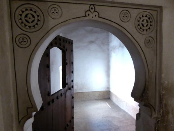 Marrakesch Medersa Ben Youseff raum der studenten freibeuter reisen